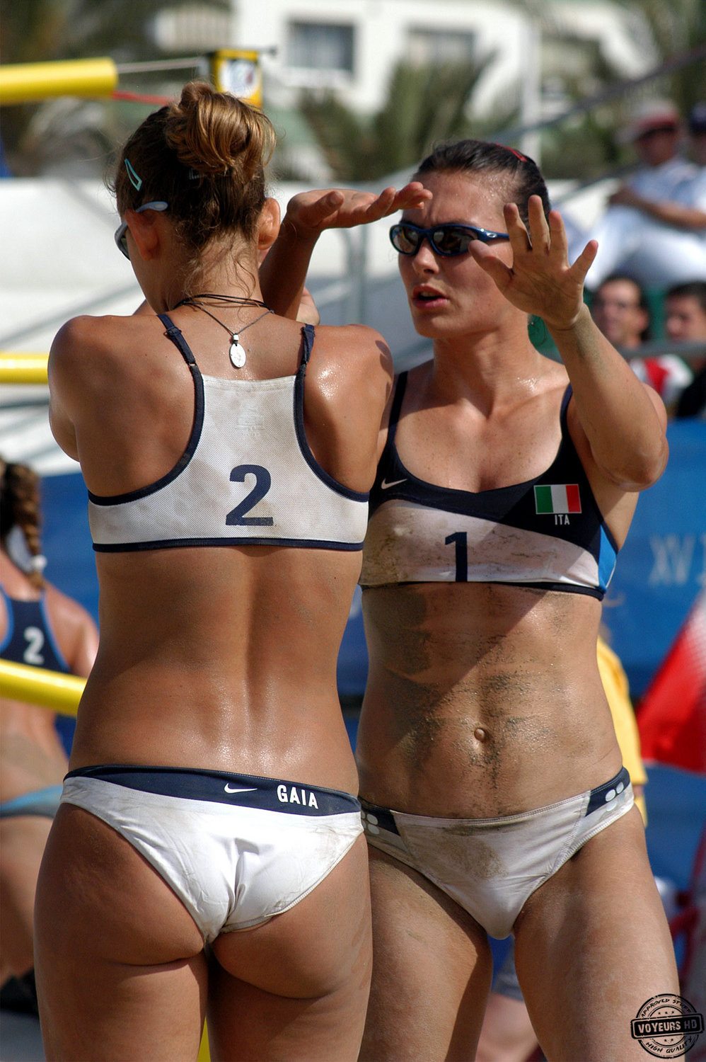 sports nude camel toe
